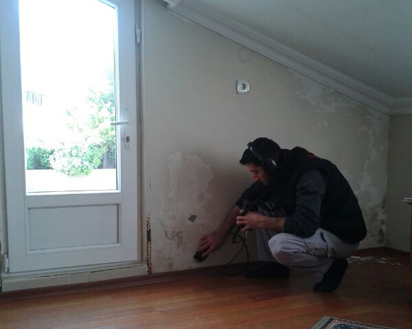 Duvardan Su Çıkıyor | Duvardaki Kaçağı Bulma