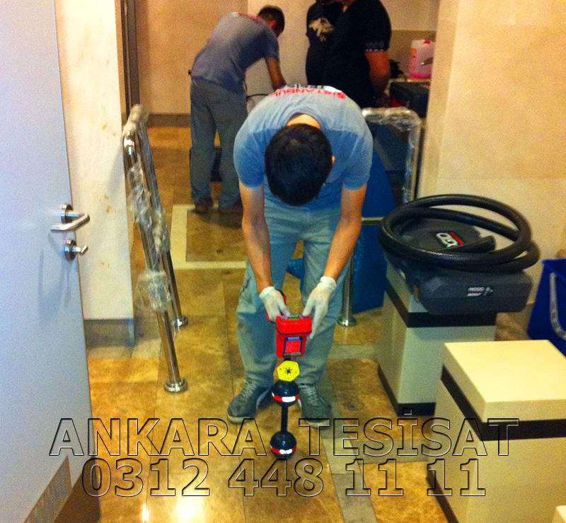 Ankara Cihazla Su Kaçağı Tespiti