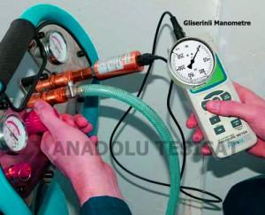 Kompresör yardımı ile su tesisat borularında basınç testi