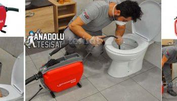 Kameralı Robotla Tuvalet Açan Servis