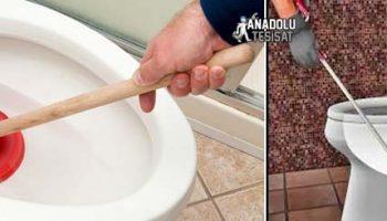 Tuvalet Tıkanıklık Açma İşlemleri